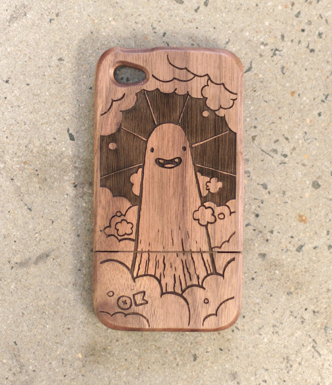 wooden iphone cases by okayboss